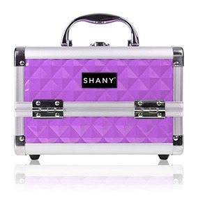 Shany Mini Maquillaje Tren Con Espejo - Púrpura