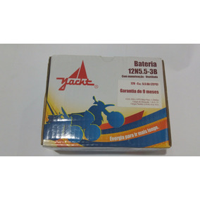 Bateria Moto Yacht 12n5.5-3b Ybr 125 Factor/rdz 125/rd 350