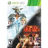 Tekken 6 / Soulcalibur 4 Bundle - Xbox 360
