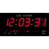 Relógio Parede Led Digital Gigante 46cm C X 23cm