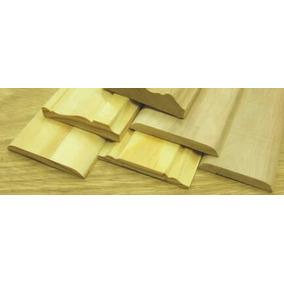 zocalo moldura cm x cm en madera pino clear x
