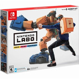 Nintendo Labo Toy Con 02 Kit De Robot Para Switch A Meses.