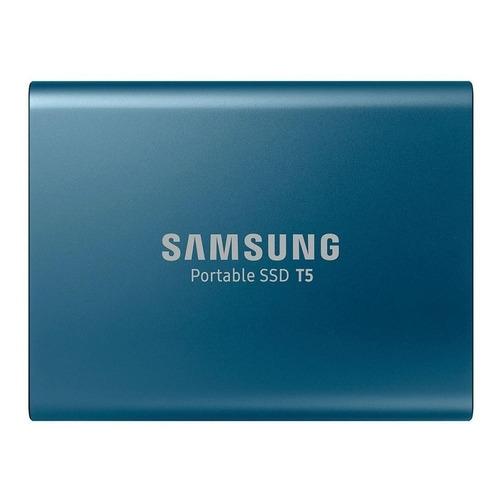 Disco sólido externo Samsung T5 MU-PA500B 500GB azul