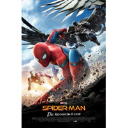 Poster Original Cine Spider-man De Regreso A Casa ( Motivo 2