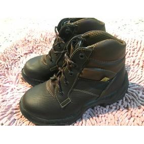 Botas De Seguridad Sicura Como Nuevas Marrón Zapato 35 Ofert