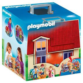 Playmobil 5167 Maletin Casa De Muñecas Jugueteria Bunny Toys