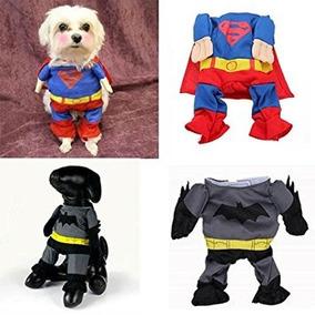 Disfraz Para Perro Divertido Del Traje Del Mono Superman Ba