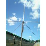 Antena Plano Tierra Para Emisoras Comunitariad 87-108 Mhz