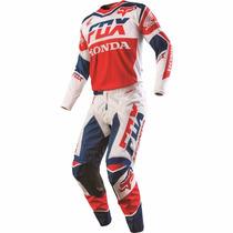 Conjunto Fox 180 Honda 2016 (calça 40 + Camisa G)