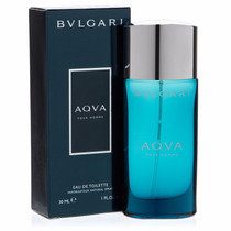 Aqva Pour Homme 30ml - Bulgari Importado Lacrado E Original