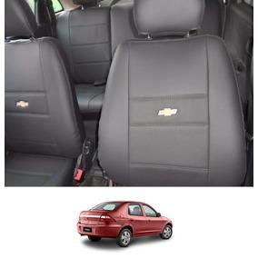 Capa Banco Couro Ecológico Courvin Chevrolet Prisma Até 2012