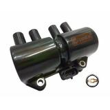 Bobina Ignição Corsa 1.0 1.4 1.6 Mpfi 8v 16v 4 Pinos Nova