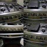 Estufa Cocina Mabe Cromada De 30 Pulgadas, Plancha Asador.
