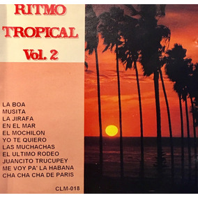 Cd Tropical Vol2 Sonora Brisas De Plata Lobo Y Melon