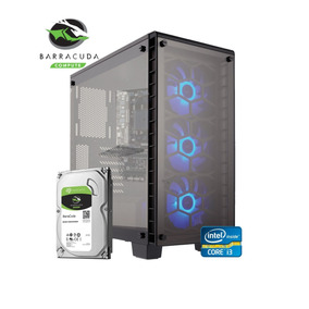 Pc Cpu Gamer Seagate Barracuda 1tb 8gb Core I3 Gtx1050 Win