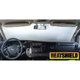 Sunshade For Chevrolet Express Van W/rearview Mirror Cutout