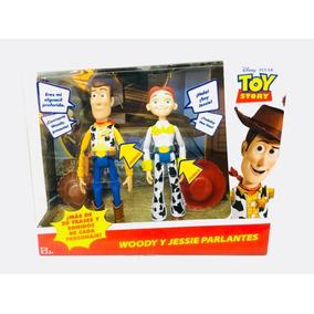 Toy Story Woody Y Jessie Parlante 20 Sonidos Mattel 79b6f21e393