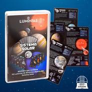 Sistema Solar - Planetas Y Lunas - Juego De Cartas
