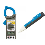 Kit Alicate Amperímetro Et-3200 Minipa + Caneta Ezalert I