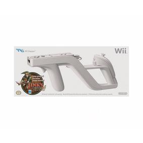 Pistola Original Wii Zapper + Game Zelda Crossbow Training