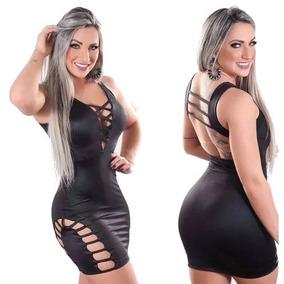 Vestido Feminino Curto Estilo Pit Bull