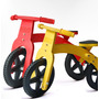 Bicicleta De Inicio Madera Colores 100% Argentina Envío Grat
