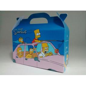 Los Simpson - Cajita Golosinera - Pack X30