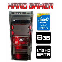 Cpu Gamer Asus/ Core I5/ 8gb/ 1tb/ Hdmi/ Wi-fi/ Led Gabinete