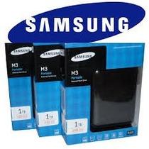 Hd Externo De Bolso 1tb Samsung Usb 3.0 M3 Lacrado Original