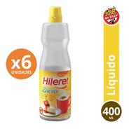 Endulzante Hileret Zucra 400 Ml. Pack X 6