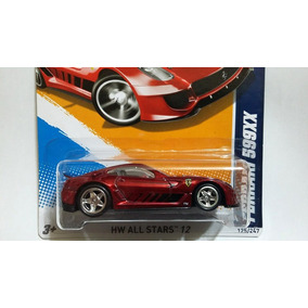 Hot Wheels Ferrari 599xx Super T-hunt Super Th 2012