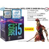 Microprocesador Intel Core I5 8400 8th Gen X6 4,00ghz Gamer