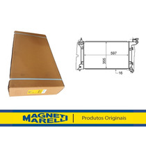 Radiador Corolla 1.6/1.8 16v 2002 Até 2008 Aut/manual 12558