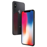 Iphone X 64gb Tela 5.8 Cinza-espacial E Prateado + Pelicula
