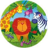 Jungle Animal Platos Grandes 22.96 Cms Diam