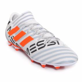ef0cf4d25986d Taquete De Futbol adidas Nemeziz Messi Gris-naranja Original