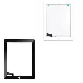 Tela Vidro Touch Apple Ipad 2 + Home + Adesivo A1395 A1396