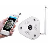 Cámara Ip Panorámica 360° Domo Vigilancia Wifi Seguridad