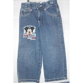 Pantalón Disney Mickey Mouse Talla 3x Para Niño