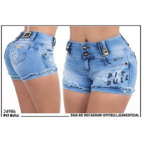 Shorts Top Jeans Com Bojo Muito Lindo Para Seu Corpo