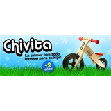 Bici Para Niño - De Madera Sin Pedales-chivita Original