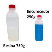 Resina Epoxi 1kg 1 Kg 1000g + Endurecedor Catalisador Bg
