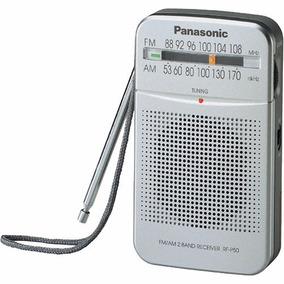 Radio Portatil Panasonic Am/fm Analogic P50 Correa Audifonos