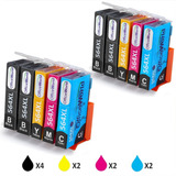 Office World 4 Color Hp Printer Ink 564 Xl 10 Packs, Compati