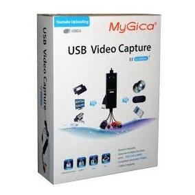 Placa De Captura Usb 2.0 Audio E Vídeo Mygica Visus Tv