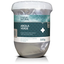 Argila Verde P/ Estética Corporal E Facial D