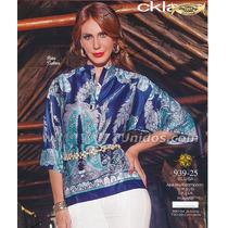 Blusa Cklass Azul Rey Otoño Invierno 2015 Nueva Envio Gratis