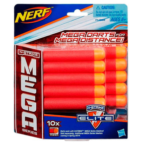 Refil Nerf N-strike Elite Mega 10 Dardos A4368 - Hasbro