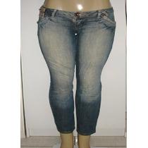 Calça Jeans Feminina Marca Disparate Tam.38 C/strech S5