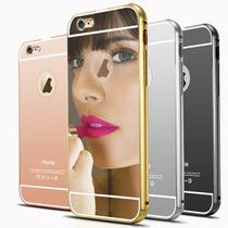 Protector Espejo + Vidrio Templado Iphone 4s 5 5s 6 6s Plus